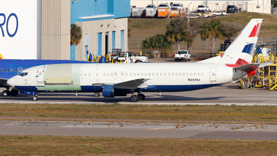 N257AJ - Boeing 737-436(SF) - Untitled