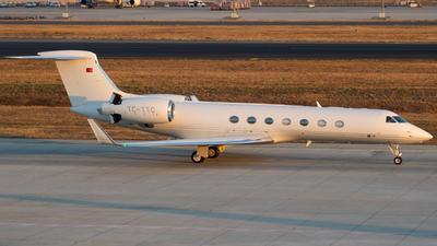TC-TTC - Gulfstream G550 - Turk Hava Tasimaciligi