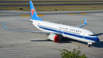 B-1407 - Boeing 737-81B - China Southern Airlines