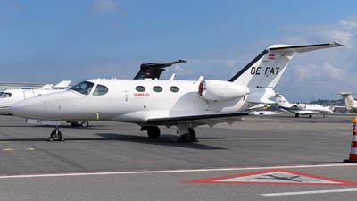 OE-FAT - Cessna 510 Citation Mustang - GlobeAir