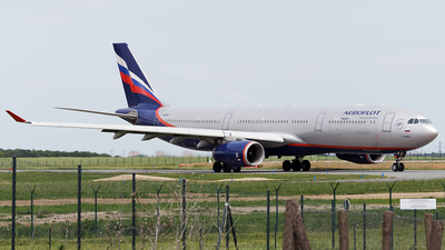 VQ-BPJ - Airbus A330-343 - Aeroflot