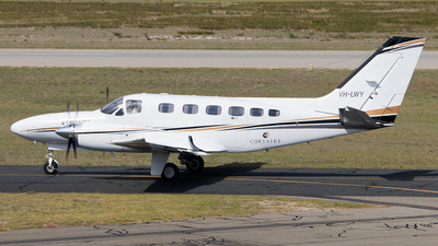 A picture of VHLWY - Cessna 441 Coquest 2 - [4410262] - © Lachlan Gatland