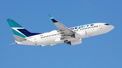 C-GMWJ - Boeing 737-7CT - WestJet Airlines