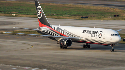 A picture of B7593 - Boeing 767338(ER)(BCF) - SF Airlines - © NicoNicoNi