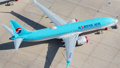 A picture of HL8348 - Boeing 737 MAX 8 - Korean Air - © Misael Ocasio Epicaviation47
