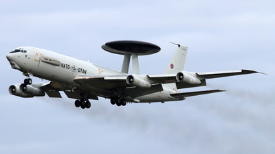 LX-N90453 - Boeing E-3A Sentry - NATO - Airborne Early Warning Force
