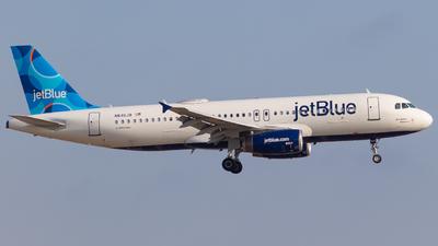 A picture of N640JB - Airbus A320232 - JetBlue Airways - © klaxaviator