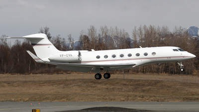 VP-CVA - Gulfstream G650ER - Private