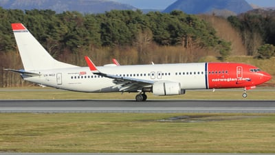 LN-NGZ - Boeing 737-8JP - Norwegian