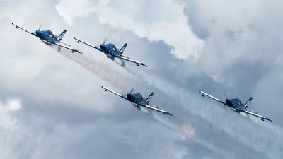 I-A416 - FlyLatino FL-100RG - Pattuglia Acrobatica Blu Circe