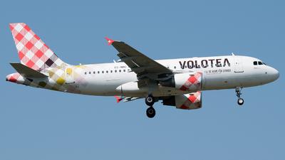 EC-NBC - Airbus A319-112 - Volotea