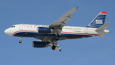 N833AW - Airbus A319-132 - US Airways