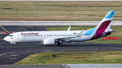 A picture of DABMQ - Boeing 73786J - Eurowings - © Pascal_DUS