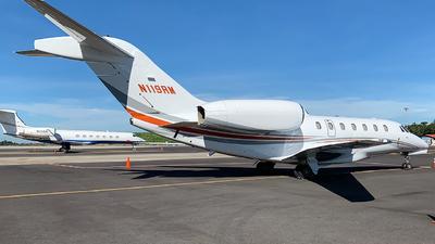 A picture of N119RM - Cessna 750 Citation X - [7500051] - © Alexander Calderon Angulo