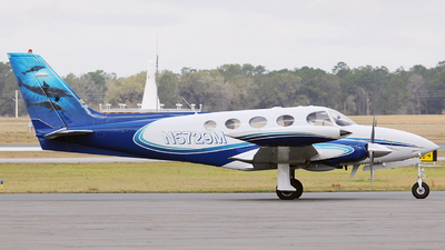 A picture of N5729M - Cessna 340 - [3400038] - © Orlando Suarez