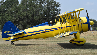N450CJ - Boeing A75N1 Stearman - Private