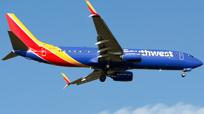 A picture of N8584Z - Boeing 7378H4 - Southwest Airlines - © Alec Mollenhauer
