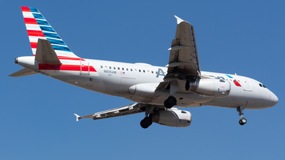 A picture of N805AW - Airbus A319132 - American Airlines - © Antonio Velasco (MAS Aviation Press)