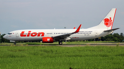 PK-LKK - Boeing 737-8GP - Lion Air