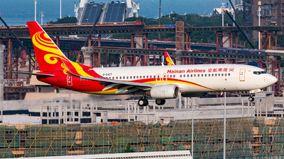 A picture of B5417 - Boeing 73786N - Hainan Airlines - © AndySpotter
