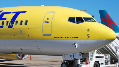 D-AHFL - Boeing 737-8K5 - CanJet Airlines (TUIfly)