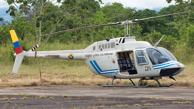 FAC4477 - Bell 206B JetRanger III - Colombia - Air Force
