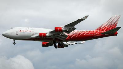 EI-XLI - Boeing 747-446 - Rossiya Airlines