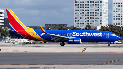 N8564Z - Boeing 737-8H4 - Southwest Airlines