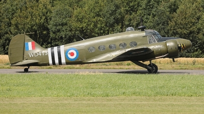 A picture of GVROE - Avro 652A Anson T21 -  - © Clive Weedon