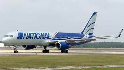 N567CA - Boeing 757-223 - National Airlines