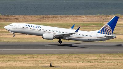 N37514 - Boeing 737-9 MAX - United Airlines