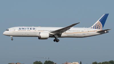 N26952 - Boeing 787-9 Dreamliner - United Airlines