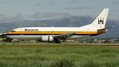 G-MONM - Boeing 737-3Y0 - Monarch Airlines