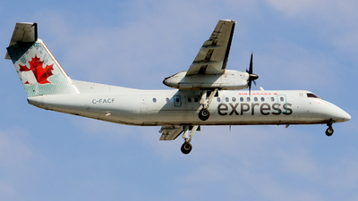 C-FACF - Bombardier Dash 8-311 - Air Canada Express (Jazz Aviation)