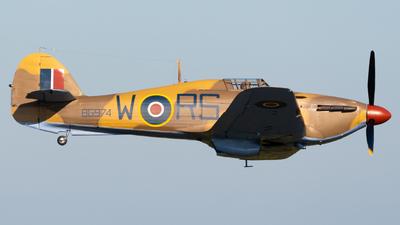 N96RW - Hawker Hurricane Mk.XII - Private