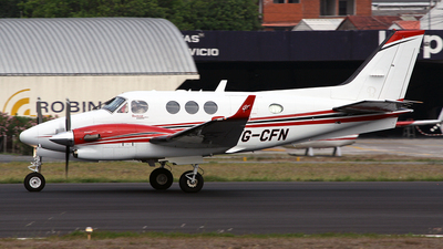 TG-CFN - Beechcraft C90GTx King Air - Private