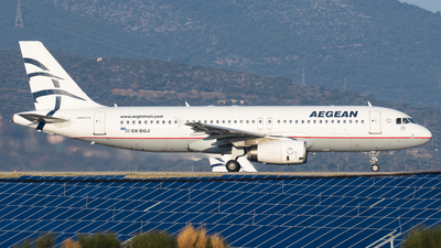 A picture of SXDGJ - Airbus A320232 - Aegean Airlines - © Kostas Marmarelis