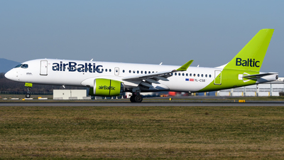 A picture of YLCSB - Airbus A220300 - Air Baltic - © Chris Jilli