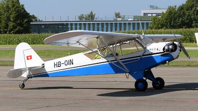 HB-OIN - Piper J-3C-65 Cub - Private