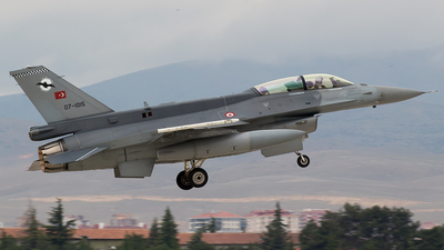 07-1015 - Lockheed Martin F-16D Fighting Falcon - Turkey - Air Force