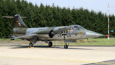 26-26 - Lockheed F-104G Starfighter - Germany - Air Force