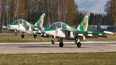 76 - Yakovlev Yak-130 - Belarus - Air Force