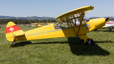 HB-PPJ - Piper PA-18-150 Super Cub - Private