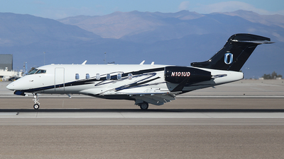 N101UD - Bombardier BD-100-1A10 Challenger 350 - Unicorp Aviation