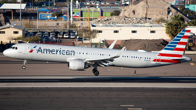 A picture of N406AN - Airbus A321253NX - American Airlines - © Alexander Owen