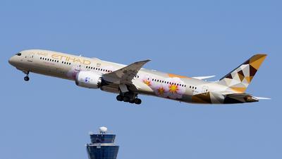 A picture of A6BLS - Boeing 7879 Dreamliner - Etihad Airways - © Alex Maras