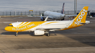 9V-TRH - Airbus A320-232 - Scoot