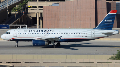 N677AW - Airbus A320-232 - US Airways