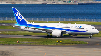 A picture of JA878A - Boeing 7878 Dreamliner - All Nippon Airways - © Haneda Spotter