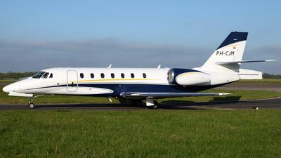 PH-CJM - Cessna 680 Citation Sovereign - Air Service Liège (ASL)